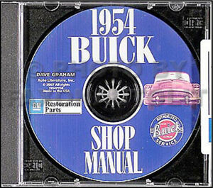 1954 buick cd rom shop manual 54 special century super skylark rh ebay com 1956 Buick Special 1953 Buick Special