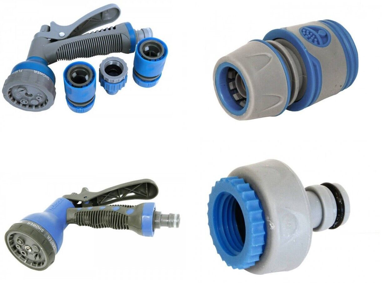 High Quality Garden Water Nozzle Spray Pattern Gun Hose Pipe Connector Fittings