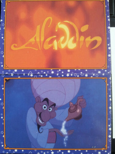ALADDIN FULL SET TRADING CARDS X120