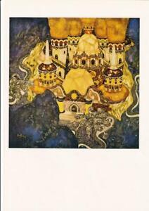 EDMUND-DULAC-VINTAGE-ART-PRINT-Original-Stunning-FairyTale-Fantasy-Illustration