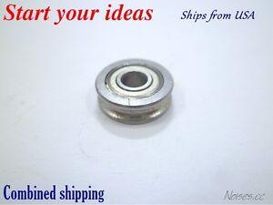 U604ZZ U Shape Slideway wheel Roller Bearings  4*13*4mm for 3D printer RepRap