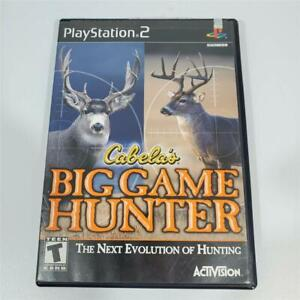 Cabella-039-s-Big-Game-Hunter-Sony-Playstation-2-Game-PS2-Complete