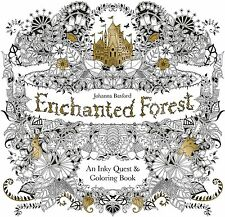 Enchanted Forest An Inky Quest Coloring Book By Johanna Basford 12 Pencil