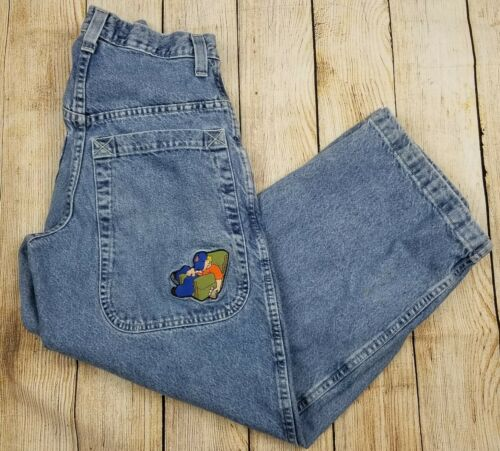Vintage 90's JNCO SLACKER 141 Jeans Sz 29x30 Urban