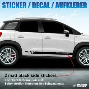 sticker sport stripe citroen c3 aircross decal aufkleber adesivi pegatina 951 ebay. Black Bedroom Furniture Sets. Home Design Ideas