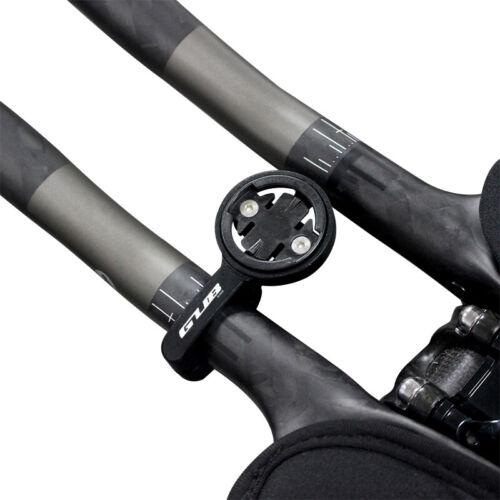 Bicycle TT Rest Handlebar Computer Mount Holder For Garmin Bryton Cateye Gopro