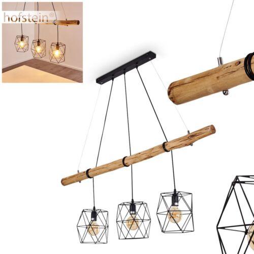 Noble pendule lampes bois résidentiels sommeil ESS Chambre Espace éclairage Suspendu Lampes