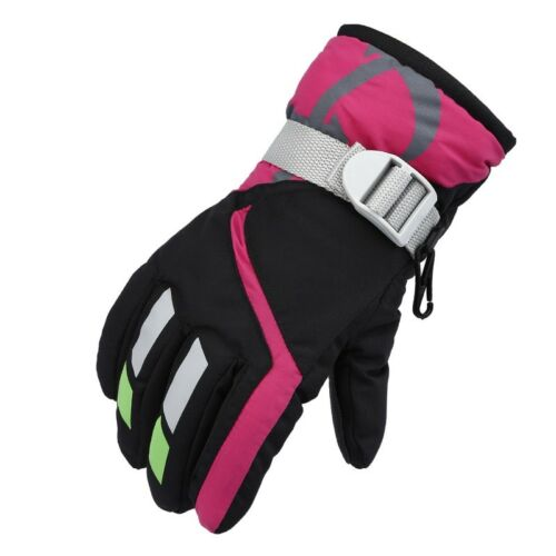 Children Ski Gloves Outdoor Sports Snowboard Mitten Kids Warm Waterproof Gloves