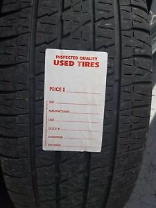 Adhesive Used Tire Labels Weatherproof With High Tack Tire
