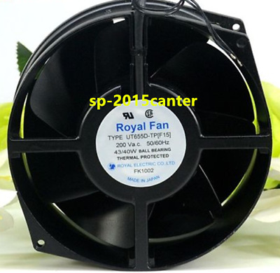 Royal Fan TR655D-TP-7 All-metal high-temperature fan 200Vac .29//29w 172*150×55mm