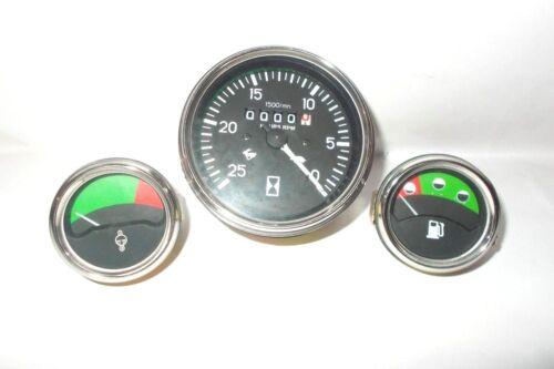 Massey Ferguson Tachometer+Temp Gauge+Fuel Gauge-MF230,240,550,URSUS 2802,2812