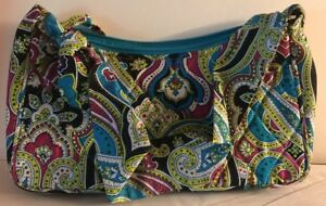 f6a3915da81a Image is loading Vera-Bradley-Limited-Edition-Retired-Silk-Paisley-Daphne-