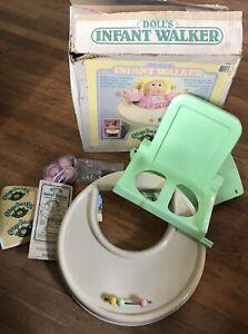 De Coleccion Coleco Cabbage Patch Kids Play Silla Asiento Rodillo 1986 De Walker Ebay