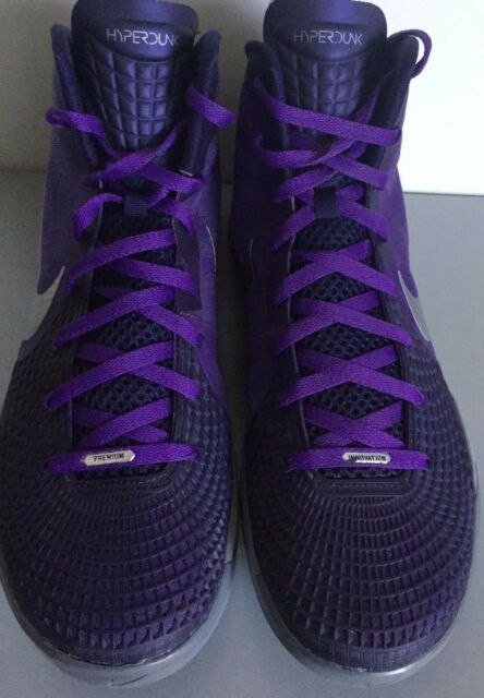 6c1e84f9f34 Nike Zoom Hyperdunk 2011 Supreme Club Purple Imperial Purple Cool Gray Shoes  15 for sale online