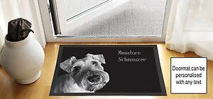 61cmx40-6cm-Schnauzer-miniature-noir-brouillon-DESSIN-Porte-d-039-entree