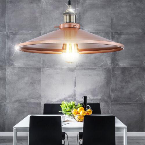 LED Hänge Leuchte Decken Lampe Aluminium Wohnraum Pendel Strahler kupferfarben