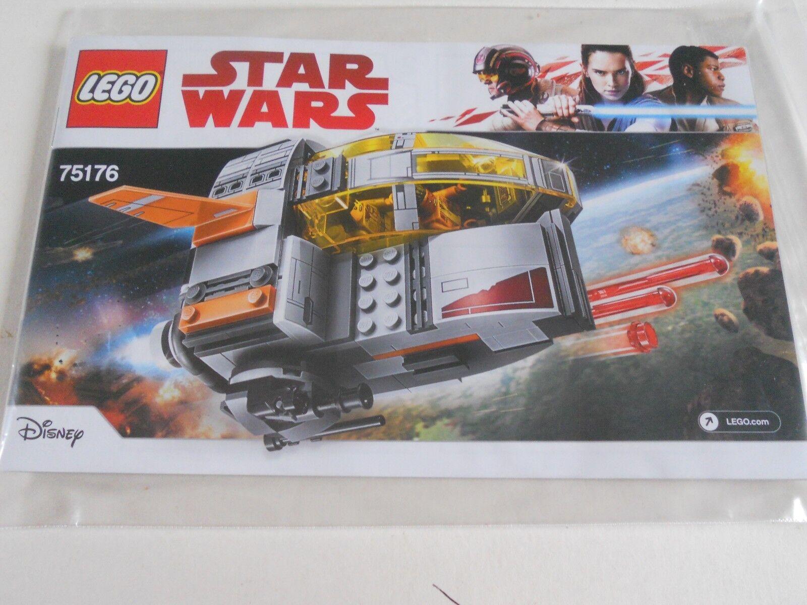 LEGO 75176 STAR WARS RESISTANCE TRANSPORT POD  NEW