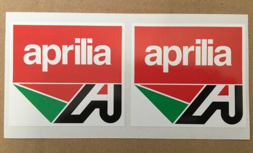 Aprilia A Logo Stickers//Decals x 2