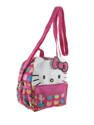 Licensed Leather Hello Kitty Style X-Small 2-in-1 Cross-body bag// Mini Backpack