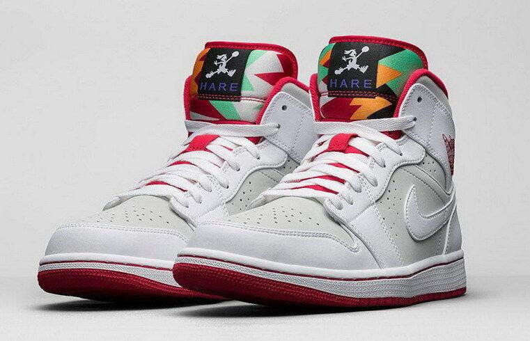 2015 Nike Air Jordan 1 Retro Mid Hare Size 10.5. 719551-123 2 3 4 5 6 og high