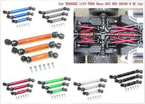 Fuer-TRAXXAS-1-10-TRX6-Benz-G63-6X6-88096-4-RC-Auto-Zubehoer-Metall-Antriebswelle