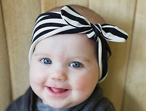 Women Girls Baby mum or daughter Bunny Wire Ear Bow Headband Hair ... fa79eec3745