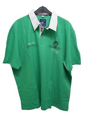 Neu Schickes Herren Kurzarm Poloshirt Grün Interessante Knopfleiste Übergröße 66 Elegant Im Geruch