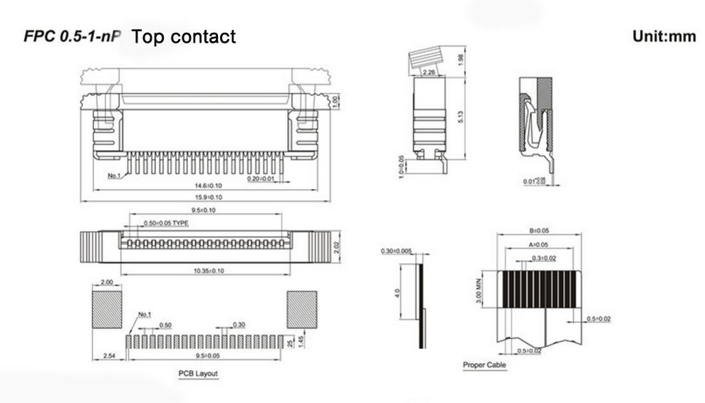 10 Stücke Ffc Fpc 8-Pin 1Mm Pitch Flachbandkabel Zif Hdd 10 Cm Lang rw