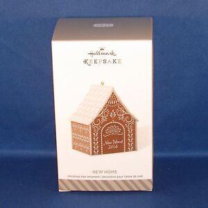 Hallmark - 2014 New Home - Gingerbread House - Keepsake ...