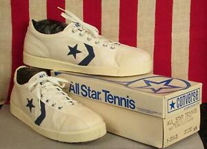 d38704b7289e4 Vintage 1980s Converse All Star Tennis Shoes Sneakers Original NOS ...