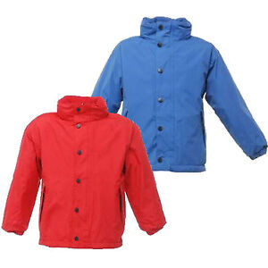 RRP-35-REGATTA-KIDS-TERM-TIME-REVERSIBLE-FLEECE-LINED-WATERPROOF-JACKET