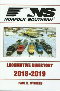 NORFOLK-SOUTHERN-2018-2019-Locomotive-Directory-NEW-BOOK