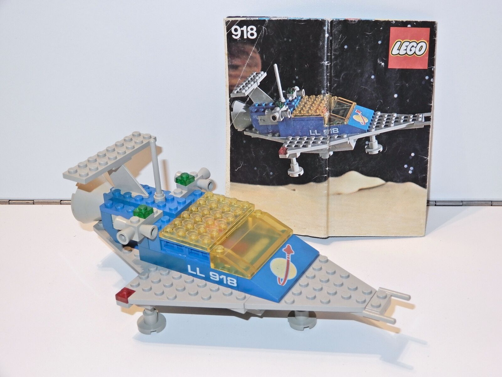 LEGO SPACE SPACE SPACE No 918 ONE MAN SPACE TRANSPORT 100% COMPLETE + INSTRUCTIONS - 1980s c81346
