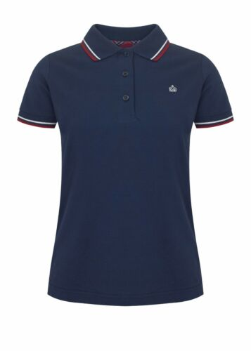 Retro Navy Fit Merc Polo London Slim Rita Ladies Shirt Mod Classic Blue Axtv6qwF