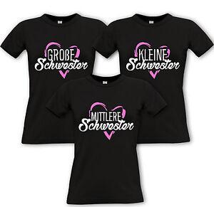 Geschwister Schwester GrosseMittlere Partner Kleine Shirts dxCQsrthB