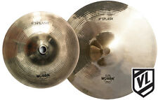 "Wuhan 6"" & 8"" Splash Cymbal Set - 2 cymbals - Traditional cymbals  - NEW"