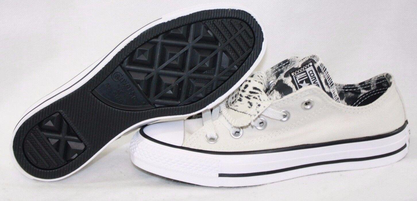 Nouveau Débardeur Converse CT All Star Double Tongue 555302 F blanc cassé Baskets chaussures
