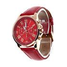 NEW Women Geneva Roman Numerals Vogue Leather Analog Quartz Casual Wrist Watch