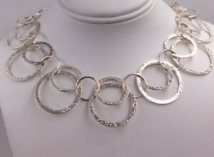 Stunning Sterling Silver Statement Chain by Milor of Italy