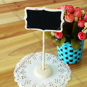 message board blackboard stand chalkboard party wedding table number gift decor
