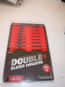 PRESTON INNOVATIONS DOUBLE SLIDER WINDERS IN TRAY 18CM OR 26CM