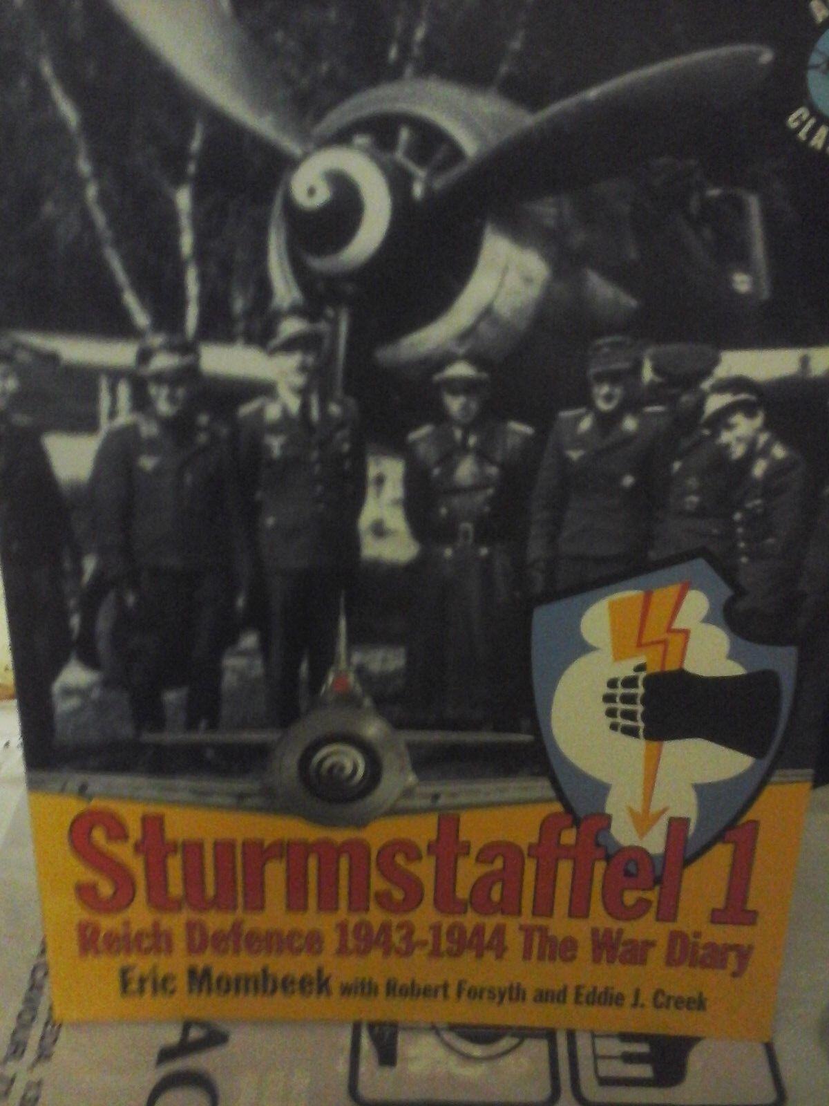 el más barato STURMSTAFFEL 1 REICH DEFENCE 1943 1944 THE THE THE WAR DIARY-BY E.MOMBEEK-CLASSIC PUBLIS  80% de descuento