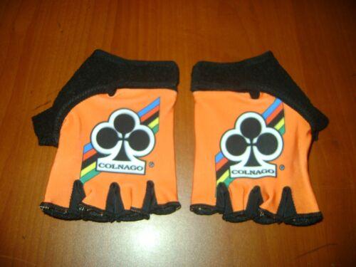 ITALIAN BIKE LOVER CYCLING GLOVES M L XL NEW ORANGE COLNAGO COLNAGO BIKE GLOVES