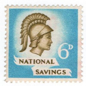 I-B-Cinderella-Collection-National-Savings-Britannia-6d-1951