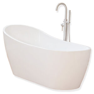 Image Is Loading Woodbridge 54 039 039 Freestanding Bathtub With  Freestanding