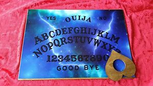Wooden-Ouija-Board-Game-Magic-Light-amp-Planchette-ghost-hunt-spooky-Pagan-spirit