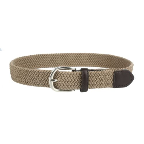 Gelante Children/'s Kids Child Canvas Elastic Fabric Woven Stretch Braided Belts