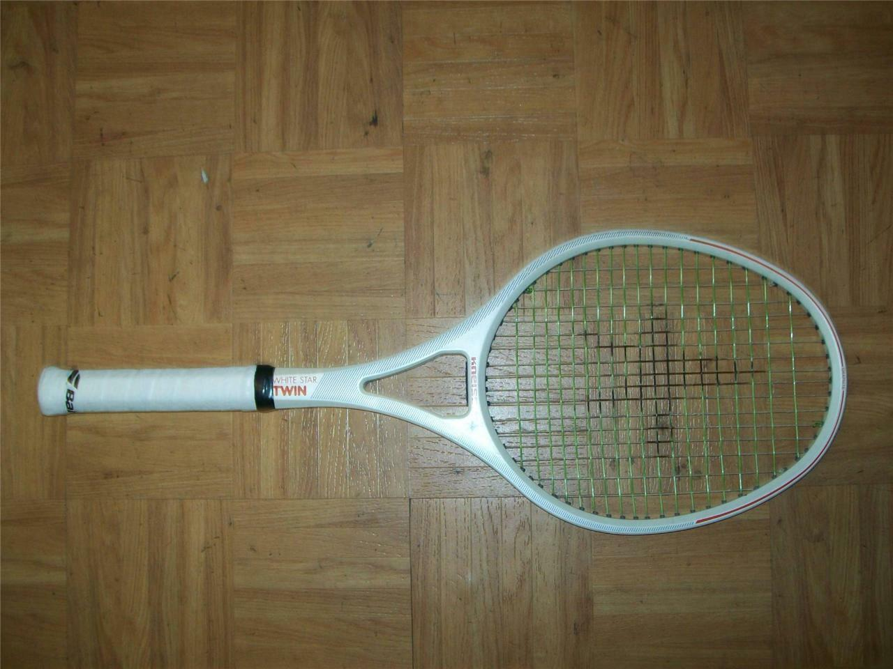Kneissl bianca Star Twin Graphite Rare 4 1/2 grip Tennis Racquet