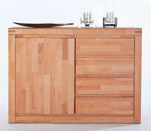sideboard kommode kernbuche massiv ge lt breite 120cm neu. Black Bedroom Furniture Sets. Home Design Ideas