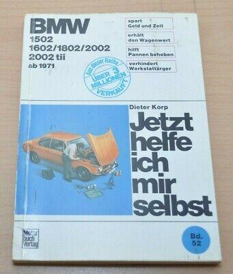 Bmw 1502 1602 1802 2002 2002tii Ab 1971 Handbuch Reparaturanleitung Jhims 52 Puur Wit En Doorschijnend